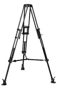 Manfrotto Video-Pro-Stativ mit 75 mm Halbschale und Mittelspinne