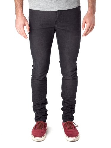 Edwin ED-88 Super Slim Slim Jeans Black Soak Washe Black
