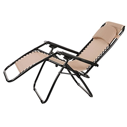 Ancheer Zero Gravity Lounge Chair - Khaki