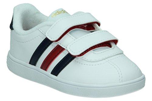 Adidas - Vlcourt Cmf Inf - Colore: Bianco - Taglia: 23.0