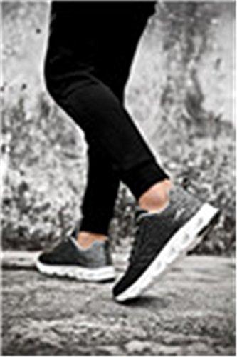 Luce Scarpe Degli Da Uomini Morbida Traspirante In All'aperto Santimon Ginnastica Casuali Maglia Sneakers Multicolori Esecuzione Suola RAnIwB