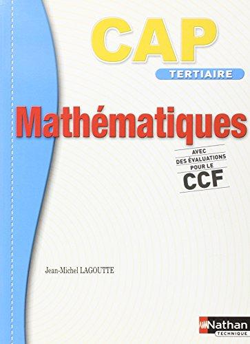 MATHEMATIQUES CAP TERT (DET) par Collectif