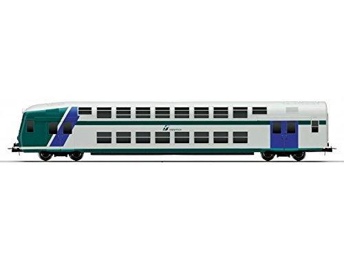 Lima treni vagoni blister con carrozza pilota doppio piano xmpr hl4300