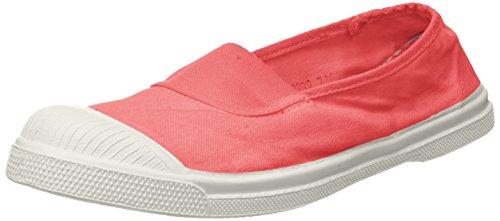 Damen-sommer-tennis-schuhe (Bensimon Damen Tennis Elastique Sneaker, Pink (Rose), 39 EU)