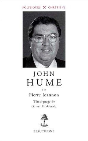 John Hume, politiques et chrétiens, numéro 15 par Pierre Joannon