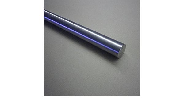 070cm 2 Edelstahl-Halter aus einem St/ück//ungeteilt Edelstahl Handlauf /Ø42,4mm mit geraden Handlaufhaltern//Br/üstung
