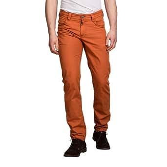 Timezone Herren Hose Normaler Bund ALTZ 5-pocket pants 26-0322, Gr. 28/32, Orange (rust orange 7041)