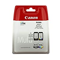 Canon CL-446 and PG-445 Ink Cartridges - Multipack