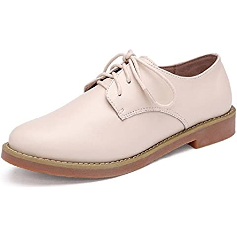 Inghilterra scarpe di cuoio Primavera/Adatti i pattini single/scarpe casual/scarpe Oxford piatte