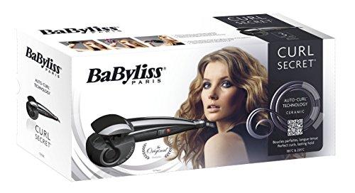 BaByliss – Rizador automático, dos posiciones de temperatura, hasta 205° C