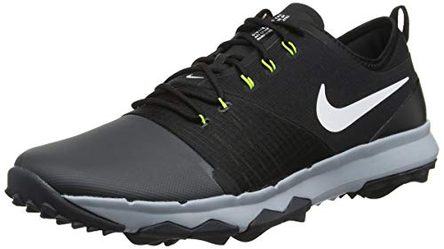 new style 48e11 e425b Nike Fi Impact 3, Scarpe da Golf Uomo, Grigio (Gris OscuroBlanco