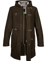 Musterbrand Diablo Abrigo Hombre Wanderer long, hooded Jacket Marrón