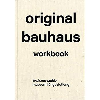 Original Bauhaus : Exercise book