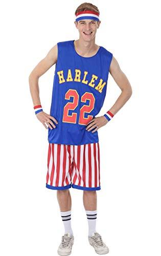 ORION COSTUMES Adult Harlem Globetrotters Costume (Globetrotter Kostüm)