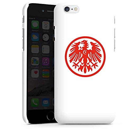Apple iPhone X Silikon Hülle Case Schutzhülle Eintracht Frankfurt Fanartikel Fussball Premium Case matt
