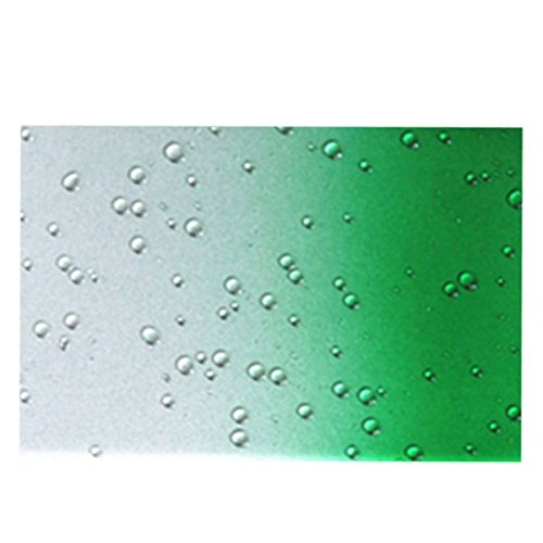 Telefon-Kasten - SODIAL(R) 1X Zubehoer Set fuer Apple iPhone 6 4.7 Zoll Rain Drop Hard Kunststoff Transparent Regentropfen Tropfen Huellen Schutzhuelle Tasche Protection Case Protective Cover Schwarz Gruen