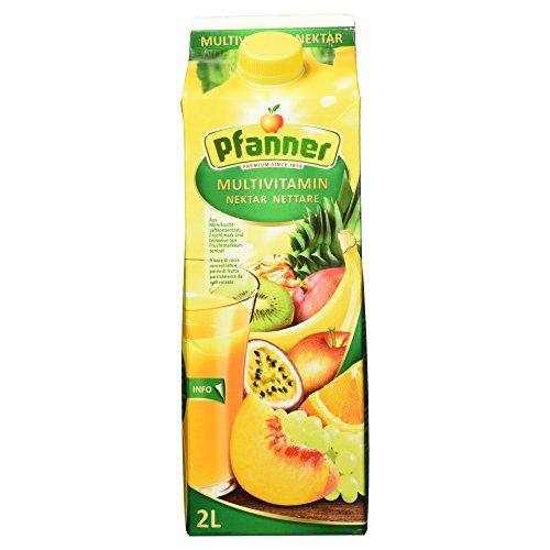 Pfanner Multivitamin Nektar 50%, 2 l Packung