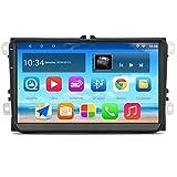 Panlelo S9 Plus Autoradio AM FM RDS per VW SEAT SKODA Jetta Passat Golf Polo con Android 8.0 2 GB di RAM 32 GB ROM Navigazione GPS 9 pollici 1024 * 600 Supporto touch screen Wi-Fi BT USB 2 DIN