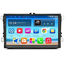 "Panlelo PAS9 Android 7.1 Autoradio 9""HD Touchscreen Quad Core AM FM RDS-Radio GPS-Navigation für VW Golf 5 MK5 Jetta T5 Polo Touran Seat"