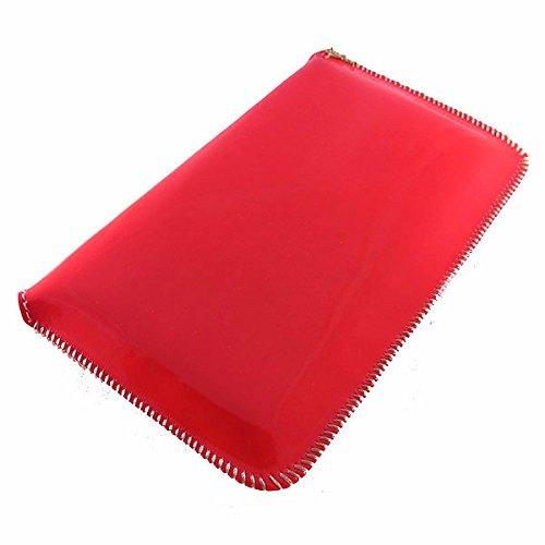 Tasche für APPLE IPHONE 4, IPHONE 4S - GENERAL MOBILE DSTL1 - HTC DESIRE S, U, V, X, HERO, MAGIC - LG KT770, OPTIMUS NET - NOKIA 603, 701, ASHA 303, C3-00, C6, C7, E5, E6-00, E63, E71, E72, N73, N8, N PINK-BORDEAUX