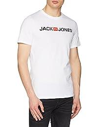 JACK & JONES Herren Jjecorp Logo Tee Ss Crew Neck Noos T-Shirt
