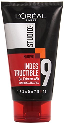 L'Oréal Paris Studio Line Indestructible Gel Fissaggio Estremo, 150 ml