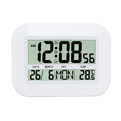 Realistic Lcd Wireless Electronic Clock Thermometer Digital Desktop Table Clock Outdoor Indoor Temperature Measure Hot Punctual Timing Measurement & Analysis Instruments Tools