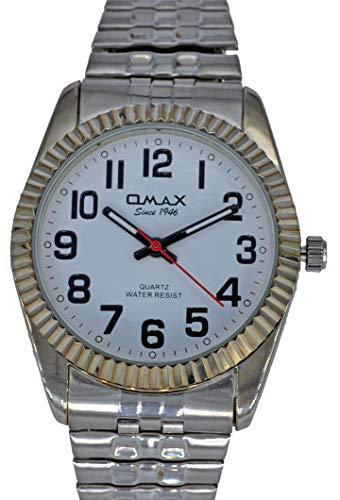 Omax 00EX0001VP23 Damenuhr Zugband Flexband
