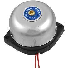 """Plata tono Metal Shell Alarma Contra Incendios Eléctrico Bell 2""""AC 220V"""