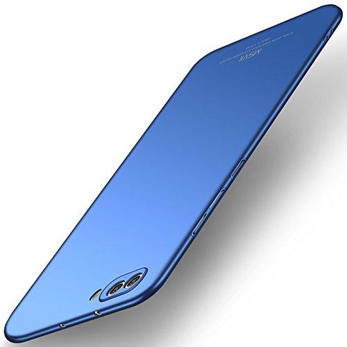 Msvii Huawei Honor View 10/Honor V10 Hülle, Dünn Hülle Schutzhülle Case Und Bildschirmschutzfolie für Huawei Honor V10 - Blau JY00414