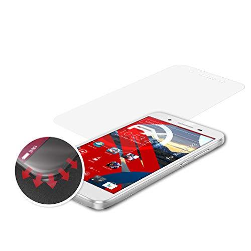atFolix Schutzfolie passend für Huawei GR3 Folie, entspiegelnde & Flexible FX Bildschirmschutzfolie (3X)