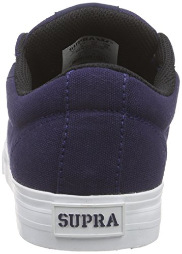 Supra Unisex-Erwachsene Stacks Vulc Ii Low-Top Blau (NAVY - WHITE NVY)
