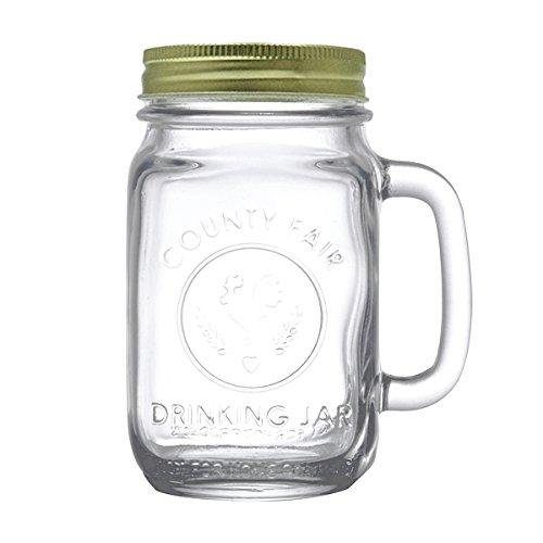 Giorgio Armani Emporio Mason Glas-Griff, transparent
