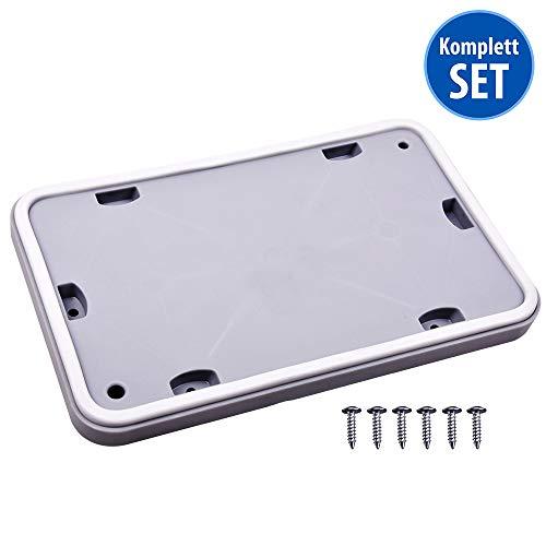 Wartungsklappe für Wärmetauscher Klappe Servicetür für Trockner Marken Bosch Siemens (Reparatursatz mit 6 Schrauben)