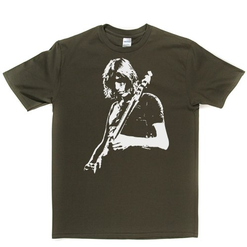 Roger Waters English Musician T-shirt Militärgrün