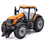 SXET-Modellauto Modell Auto Traktor Modell Auto Druckguss Modell Engineering Auto Modell Spielzeugauto Legierung Automodell (Farbe : Orange)