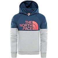 The North Face Y Drew Peak Rgln Hd Blue Wing Teal XL (Kids)
