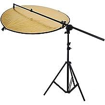 """Neewer® Kit de Photo Studio Réflecteur Comprend (1) 43 """"/ 110cm 5-en-1 Multi-Disc Réflecteur de Lumière Pliable + (1) Support Grip Holder 24"""" -47 """"/ 60-120cm Tête Pivotante Réflecteur Support + (1) 6 Pieds / 75 """"190cm Support de Lumière Photographie"""