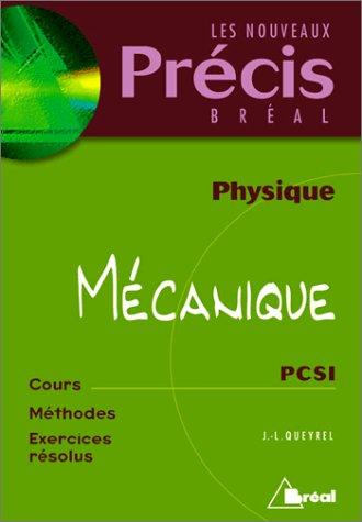 Physique, mécanique : PCSI
