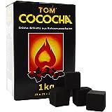 Tom Cococha Coco Carbón Amarillo 1kg, pack de 1 unidad