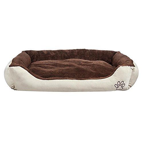 Yaheetech Hundebett Hundekissen Hundesofa Hunde Katzen Schlafplatz mit Kissen, Waschbar