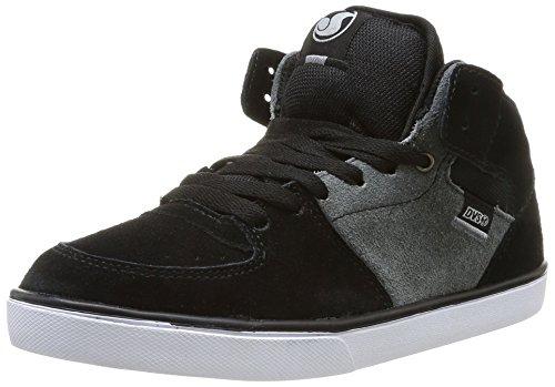 DVS Torey Ctx, Chaussures de tennis garçon Noir (Black White Grey Suede)
