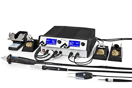 Preisvergleich Produktbild Ersa i-CON VARIO 4 Mehrkanal-Löt mit Entlötstation 500 W, 230 V, i-Tool AIR S, Chip und X-Tool antistatisch, 0ICV4000AICX