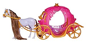 Simba 104663349 Steffi Love Light Pumpkin Carriage - Muñeca Steffi Love