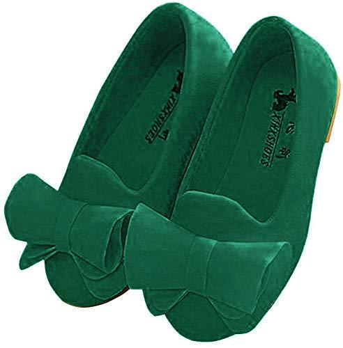 Zapatos Planos Bowknot Niñas Zapatos De Vestir Niñas
