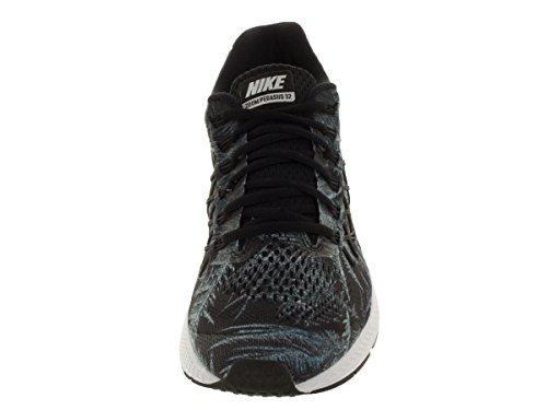 Nike Air Zoom Pegasus 32 Solstice, Chaussures de Running Entrainement Homme, Taille Noir / Argenté (Blck / Rflct Slvr-Pr P / Crystal)