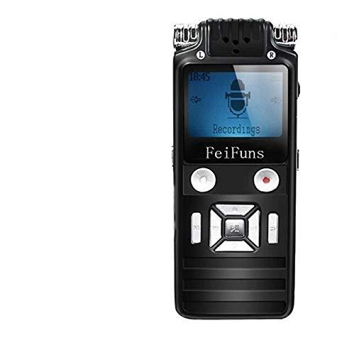 Digital Voice Recorder 8 GB Digital Stereo Voice Recorder Digital Audio Recorder mit Mini USB Anschluss LCD-Display & MP3 Player inkl Büro Konferenz Schule Seminar usw - 8826 (Voice-recorder Mit Usb-anschluss)