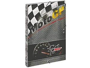 Moto GP- Carpeta A4 con Gomas (Montichelvo 54221)