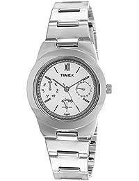 Timex Analog White Dial Women's Watch - TW000J107