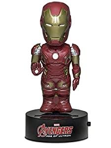 NECA Vengadores La Era de Ultrón Figura Movible Body Knocker Iron Man 15 cm